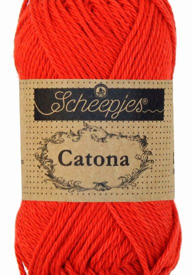 Scheepjes Catona 115 Hot Red