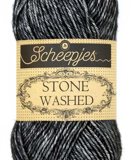 Scheepjes Stone Washed – 803 -Black Onyx