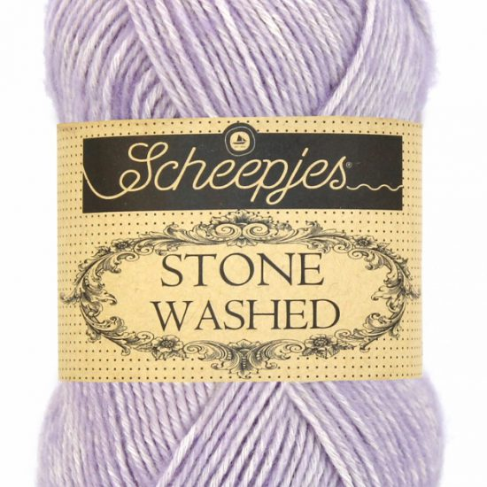 Scheepjes Stone Washed - 818 - Lilac Quartz