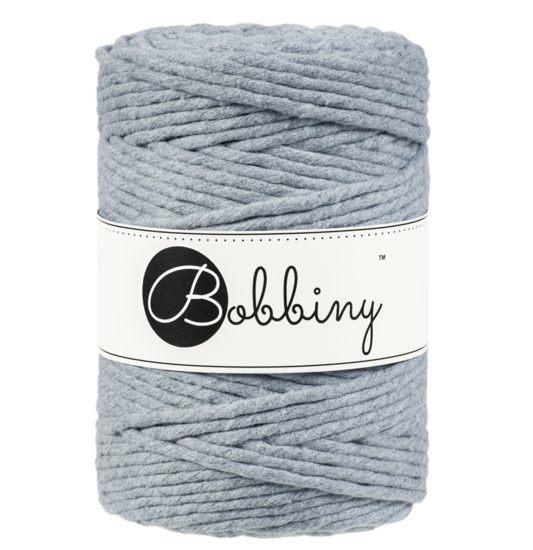 bobbiny 5 mm grey frutselsenmeer